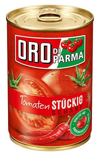 ORO di Parma Tomaten stückig scharf, 6er Pack (6 x 425 ml Dose)