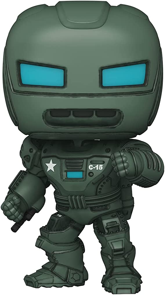 "Amazon.com: Funko Pop! Super Marvel: What If? - 6"" The Hydra Stomper : Toys  & Games"