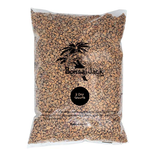 Monto Clay pH 5.6 (Montmorillonite Calcined Clay) Bonsai Soil Amendment (2 Dry Quarts)