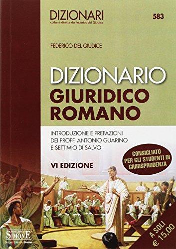 Dizionario giuridico romano