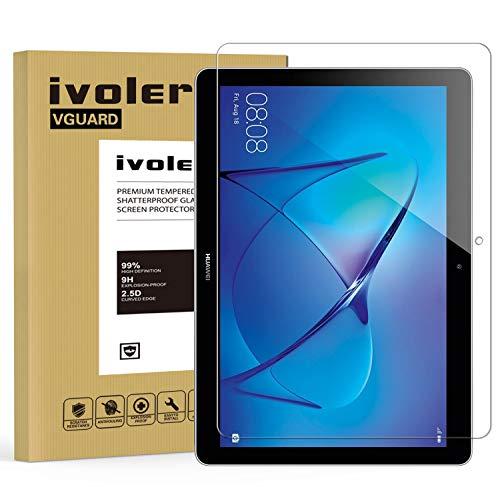iVoler Pellicola Vetro Temperato per Huawei Mediapad T3 10.0, Pellicola Protettiva, Protezione per Schermo