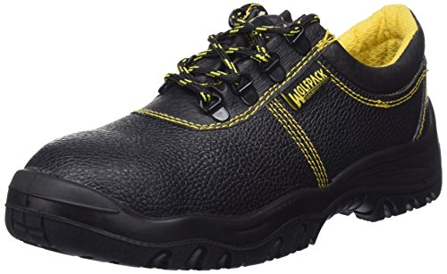 WOLFPACK LINEA PROFESIONAL 15018125 Zapatos Seguridad Piel Negra Wolfpack Nº 41