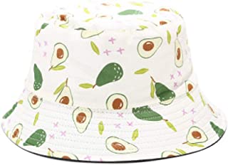 New Tropical Printed Fruit Pattern Fisherman hat Outdoor Sports Sunshade hat Casual Fisherman hat A5