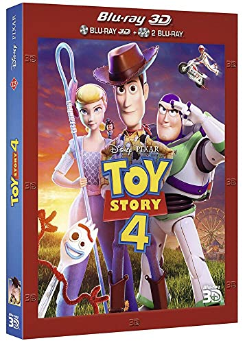 Pixar Toy Story 4 [Blu-Ray 3D]