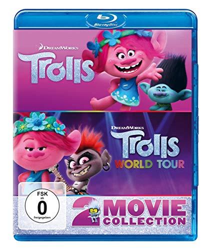 Trolls & Trolls World Tour [Blu-ray]
