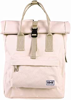 8848 Canvas Backpack Casual Solid Color Large Capacity School Bags Travel Rucksack for Women