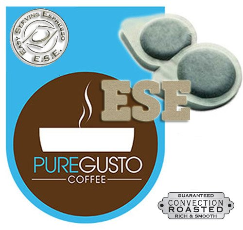 PureGusto Italian Passion - ESE Coffee Pods (100) - FREE DELIVERY