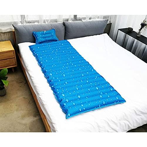 Verano Colchón de Agua Hogar Cama de Agua Inyección de Agua Inyección de Agua Almohadilla de Hielo Cojín de Agua Dormitorio Refrigeración Colchón de Hielo Fresco (Color : C, Size : 200 * 90cm)
