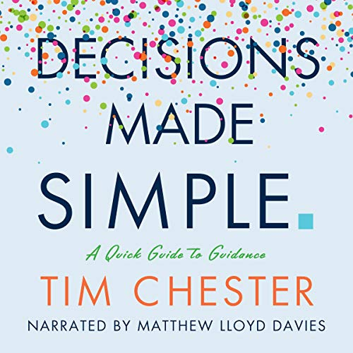 Decisions Made Simple audiobook cover art