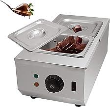 6L rostfritt stål chokladsmältningsmaskin 600W kommersiell chokladhärdningsmaskin 30 ℃ ~ 80 ℃ chokladsmältare automatisk t...