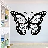 Hermosas pegatinas de pared de vinilo de mariposa | Arte de pared de utensilios de cocina para decoración de refrigerador de restaurante de cocina