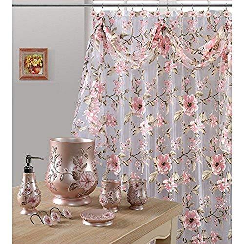 Daniel's Bath & Byound Pink Melrose Shower Curtain