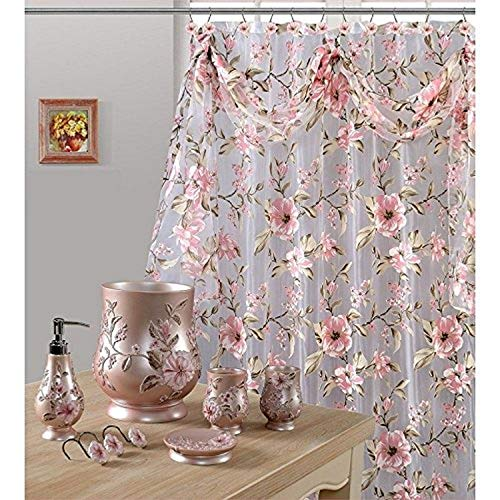 Daniel's Bath & Byound Pink Melrose Shower Curtain