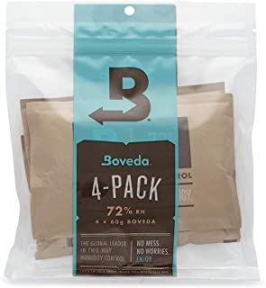 Boveda for Cigars/Tobacco | 72% RH 2-Way Humidity Control | Size 60 for Use with Every 25..