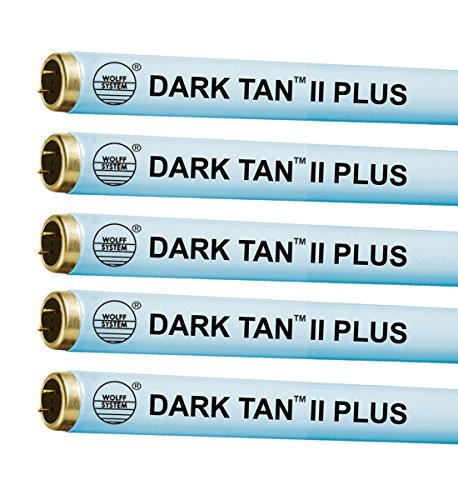Wolff Dark Tan II Plus F71 100W Bi Pin Tanning Lamp (24) by Wolff Systems