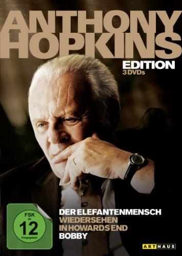 Anthony Hopkins Edition (Der Elefantenmensch / Wiedersehen in Howards End / Bobby)[3 DVDs]