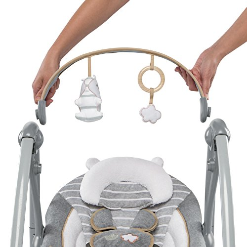 51ad8zzbBWL 10 of the Best Baby Swing for Big Heavy Babies 2021 Review