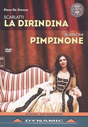 La Dirindina/Pimpinone [Elena De Simone; Filippo Pina Castiglioni; Alberto Busettini] [DYNAMIC:DVD] [2016] [NTSC]