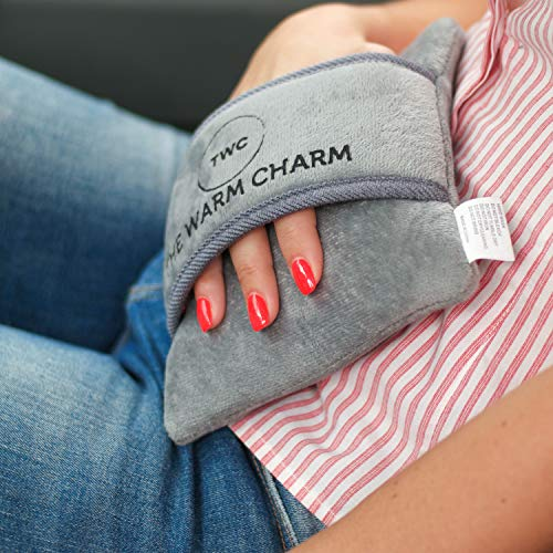 The Warm Charm Mini Electric Heat Pack with Cover - Soothing Heat relieves Aches
