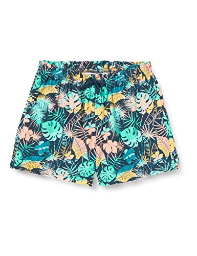 Fred's World by Green Cotton Girls Palm Casual Shorts, Midnight, 128