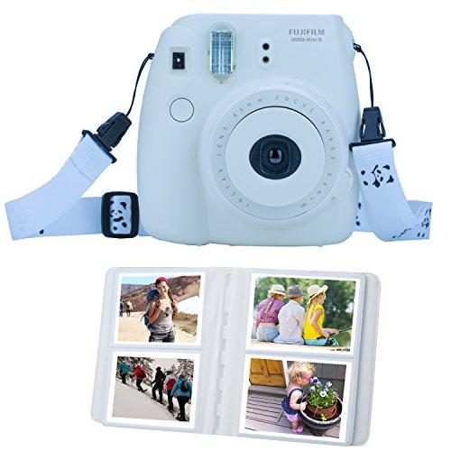 ZWOOS 13 in 1 Zubehör für Fujifilm Instax Mini 8 / Mini 9 Tasche Kamerapaket(Ice blau)