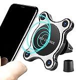 EooCoo Kabelloses Schnellladegerät, Fast Wireless Charger, Induktive Schnellladestation Qi-Charger Kompatibel für iPhone X 8 8 Plus und Alle Qi Geräte, Krake