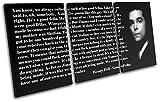 Bold Bloc Design - Good Fellas Movie Quote Typography