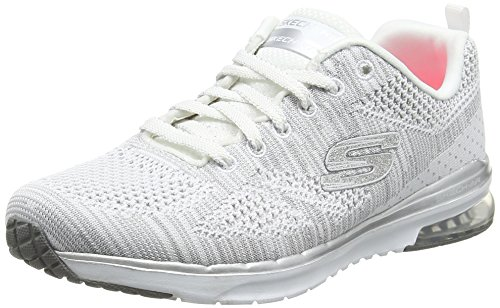 Skechers Skech- Air Infinity-stand Out - Zapatillas de deporte Mujer, Blanco (Blanco (WSL)), 41