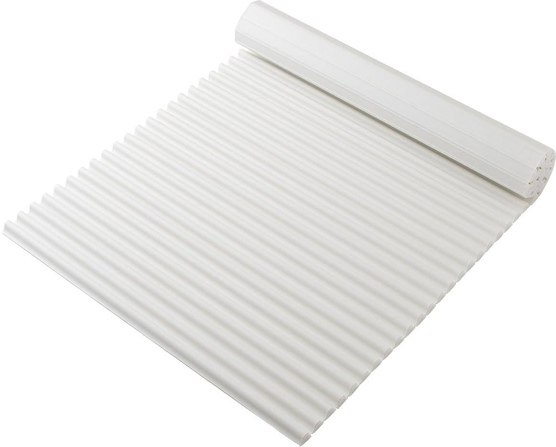 味わう人工的な衣装東プレ 風呂ふた シャッター式 イージーウェーブネオ 70×110cm ホワイト M11