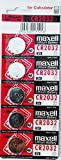 Maxell CR2032-B5MXL - Blister de pillas tipo botón de litio CR2032 3V (5 unidades)