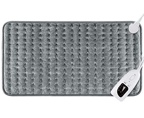 DIZA100 Heizkissen mit Abschaltautomatik Abschaltung, schnelle Heiztechnik Elektrisch Wärmekissen, sicheres Wärmepads Elektrische für Rücken, Nacken, Schulter 30 x 60 cm