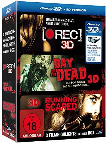 Horror und Action - Box (inkl. 2D-Versionen) [3D Blu-ray]