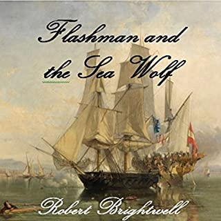 Flashman and the Seawolf audiobook cover art