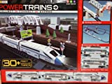 Power Trains Motorized Deluxe City Train Set with 30+ Feet of Track