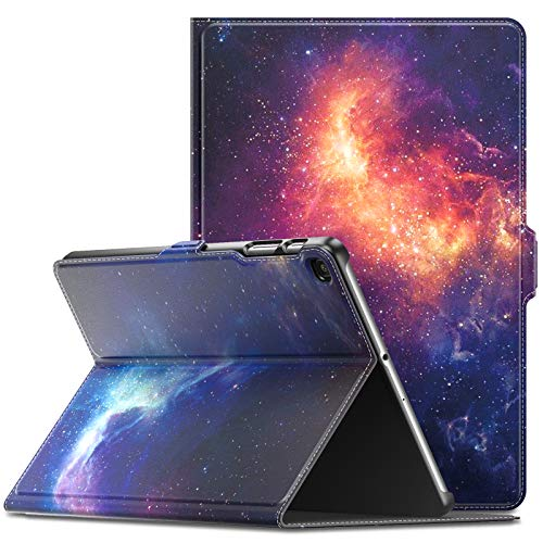 Infiland Samsung Galaxy Tab A 10.1 2019 Case, Multiple Angle Stand Cover Compatible with Samsung Galaxy Tab A 10.1 Inch Model SM-T510/SM-T515 2019 Release Tablet, Galaxy