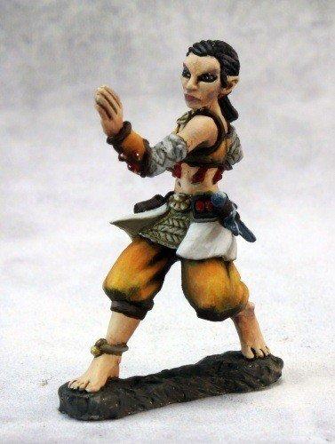 Esmeria, Half Elf Monk Dark Heaven Legends Series by Reaper