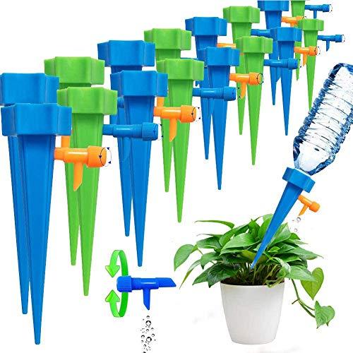 BETOY 20 pcs Sistema de Riego Automático- Riego por Goteo Espiga Sondas de Auto Irrigación para Bonsáis, Plantas y Flores de Interior - Dispositivo de Riego Científico y Doméstico Desarrollado
