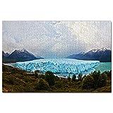 Parque Nacional Bahía del Glaciar Perito Moreno Argentina Puzzle 1000 Piezas para Adultos Familia Rompecabezas Recuerdo Turismo Regalo