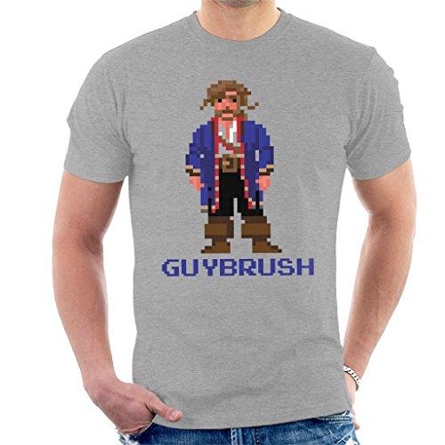 Guybrush Threepwood Pixel Character Monkey Island Men's T-Shirt