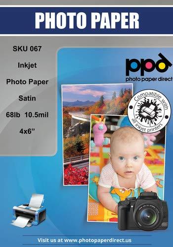 PPD Papel fotográfico Premium Tarjetas acabado satín