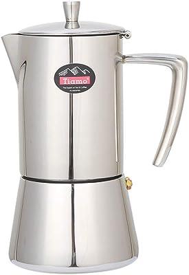 Amazon.com: Cafetera italiana Mocha para café, válvula única ...