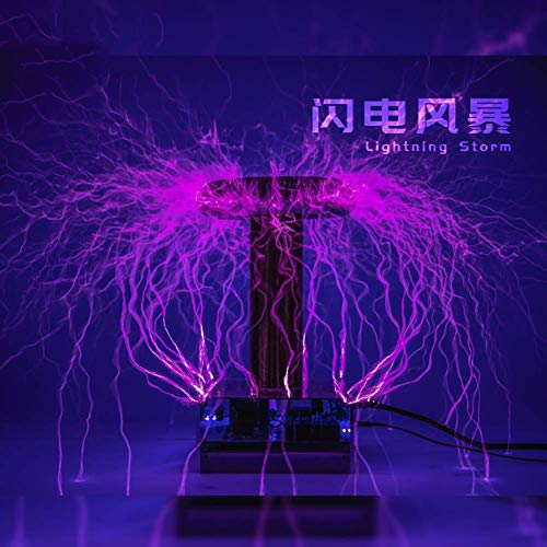 WEHOLY Music Festival Music Coil Physical Science Experiment Equipment Toys 50CM DRMusic Electric Circle/Artificial Lightning/Experiment Display