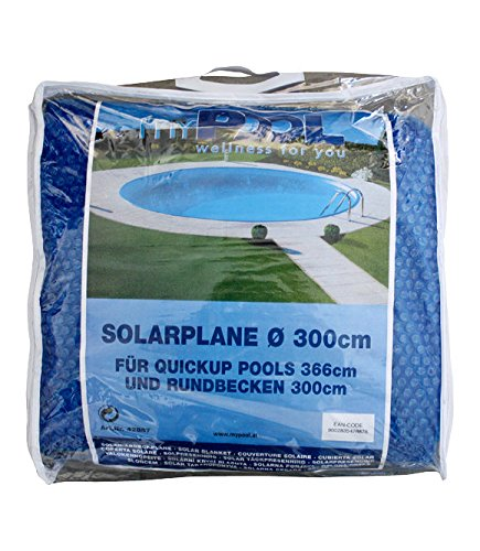 MyPool Solarabdeckplane Basic für Quick-Up Pools Ø 366 cm