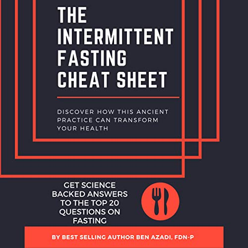 The Intermittent Fasting Cheat Sheet audiobook cover art