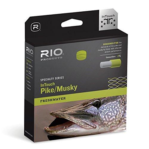RIO PRODUCTS - Fliegenschnüre in Grau/Gelb, Größe 8 Weight