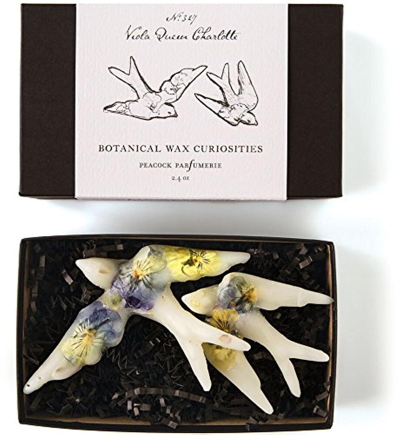 阻害するまろやかな仕えるロージーリングス ボタニスト ボタニカルワックスキュリオシティ ビオラクィーンシャーロット ROSY RINGS Botanist Collection Botanical Wax Curiosities – Viola Queen Charlotte
