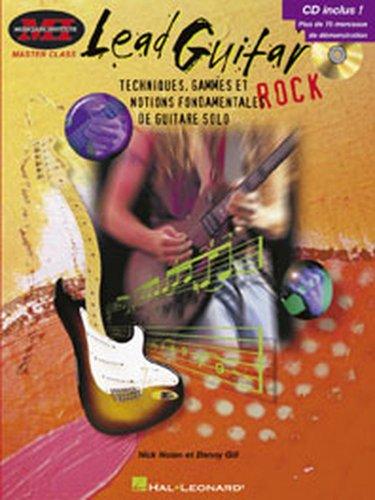 Hal Leonard Nolan/Gill–Lead Guitar Rock + CD–Guitarra método y pedagogía guitarra guitarra...
