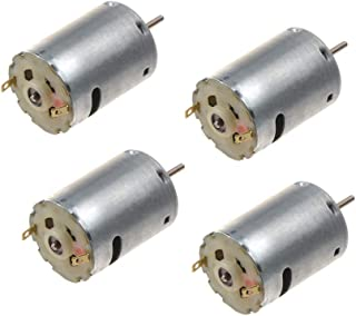 PENCK 12V DC 6000RPM Torque Magnetic Mini Electric Motor for DIY Toys Cars, Pack of 4