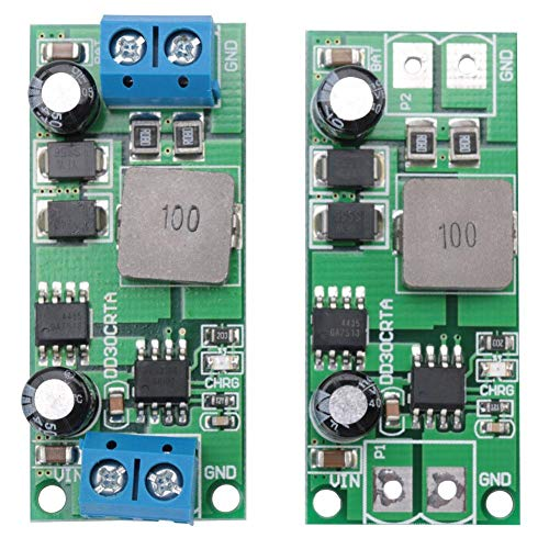 Akku Lademodul mit einstellbarer Spannung für 3A 12V 1-1000AH Blei-Säure-Akkumulator(Terminal enthalten)