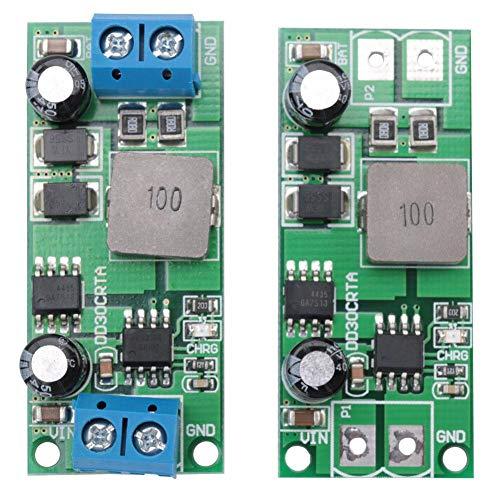 Ladegerät Controller , 3A 12V 1-1000AH Akkumulator Blei-Säure-Batterie-Akkumulator-Ladegerät-Modul(Mit Anschluss)